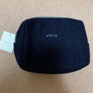 シロ(shiro)のshiro ノベルティポーチ 未使用(ポーチ)