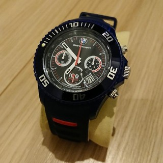 アイスウォッチ(ice watch)のBMW Motorsport ICE Watch ネイビー/ホワイト48mm (腕時計(アナログ))