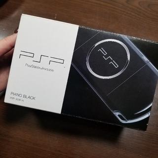 プレイステーションポータブル(PlayStation Portable)のPSP 3000 PB ピアノブラック 人気カラー SONY 新品 未使用  (携帯用ゲーム本体)
