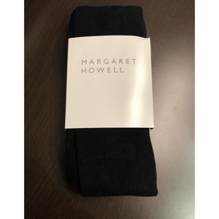 マーガレットハウエル(MARGARET HOWELL)のマーガレットハウエル タイツ ブラック グレー(タイツ/ストッキング)