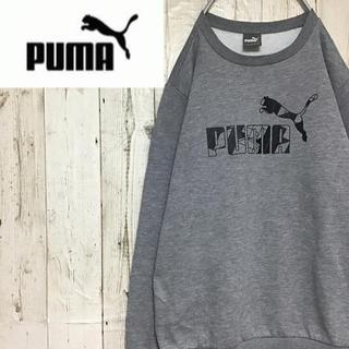 プーマ(PUMA)の【プーマ】【裏起毛】【ビッグロゴ】【スウェット】(スウェット)