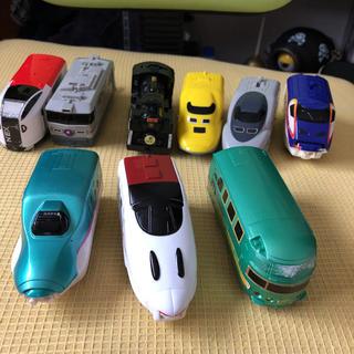 マクドナルド(マクドナルド)のトミカハッピーセット(電車のおもちゃ/車)