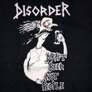 シックスシックスシックス(666)の☆新品☆Disorder ディスオーダー Tシャツ ハードコア パンク 666(Tシャツ/カットソー(半袖/袖なし))