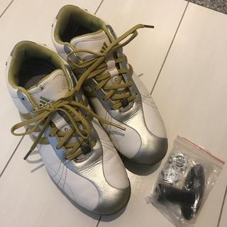 アディダス(adidas)の\美品/adidas ゴルフシューズ 23.5cm(シューズ)