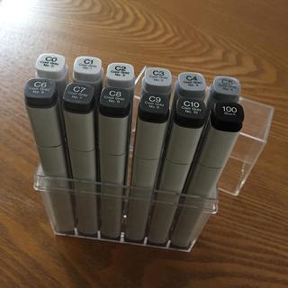 ツゥールズ(TOOLS)のコピック 12色クールグレーセット COPIC .Too(カラーペン/コピック)