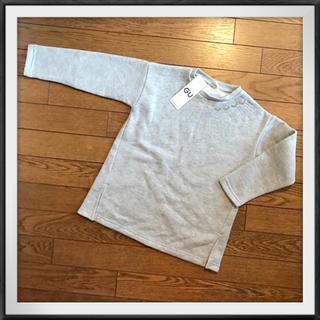 ジーユー(GU)のGU 新品 裏起毛トップス 120cm(Tシャツ/カットソー)