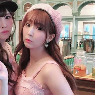 Lily Brown - ピンクベレー帽