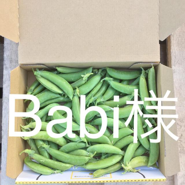 鹿児島産スナップエンドウ500g^_^ 食品/飲料/酒の食品(野菜)の商品写真