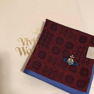ヴィヴィアンウエストウッド(Vivienne Westwood)の新品⭐️ ヴィヴィアン ウエストウッド ハンカチ オーブ刺繍 日本製 ギフトにも(ハンカチ/ポケットチーフ)