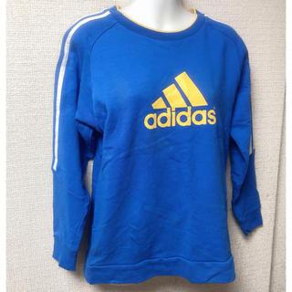 アディダス(adidas)のアディダス adidas Tシャツ長袖トレーナー160cm  美品(Tシャツ/カットソー)