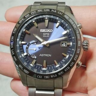 セイコー(SEIKO)の最終値下げ‼️★未使用に近い★ SBXB109  アストロン  ネイビーブルー(腕時計(アナログ))