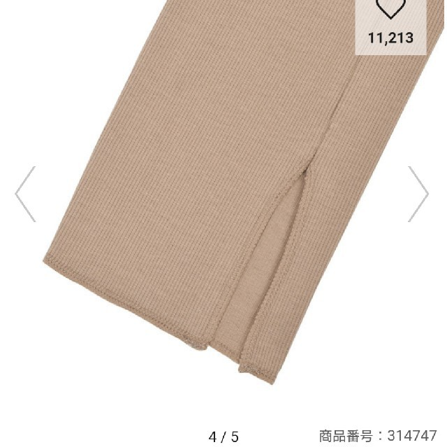 GU(ジーユー)のレギンス レディースのレッグウェア(レギンス/スパッツ)の商品写真