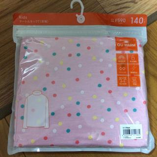ジーユー(GU)の新品☆GU タートルネック140cm(Tシャツ/カットソー)