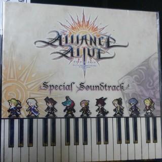 アライアンスアライブ 特典CD(ゲーム音楽)