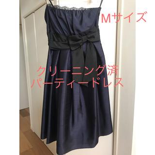 8c479ca9138fb エメ(AIMER)のshe s ドレス ワンピース ネイビー×黒 M(ミディアムドレス)