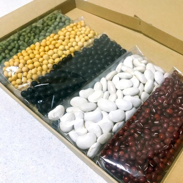 ☆お試しセット☆ 乾燥豆セット 計700g(7種類×100gずつ) 青森県産 食品/飲料/酒の食品(野菜)の商品写真