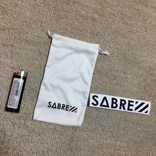 セイバー(SABRE)のsabre サングラス ケース 袋 ステッカー(サングラス/メガネ)