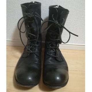 キョウジマルヤマ(Kyoji Maruyama)のキョウジマルヤマ スパイラルジップブーツ(ブーツ)