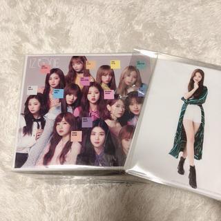 エイチケーティーフォーティーエイト(HKT48)のIZ*ONE 「好きと言わせたい」wiz*one盤 CDBOX ※生写真付き(K-POP/アジア)