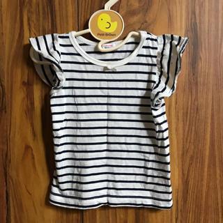 シマムラ(しまむら)のボーダーTシャツ★90cm(Tシャツ/カットソー)