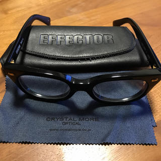エフェクター(EFFECTOR)の【jum-pei様専用】EFFECTOR fuzz-s BKG(サングラス/メガネ)
