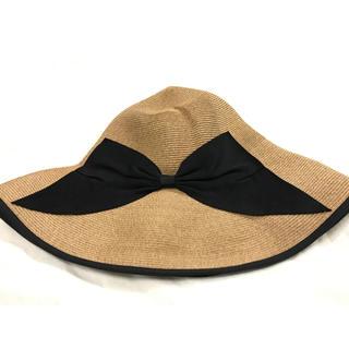 バーニーズニューヨーク(BARNEYS NEW YORK)のアシーナニューヨーク/帽子(麦わら帽子/ストローハット)