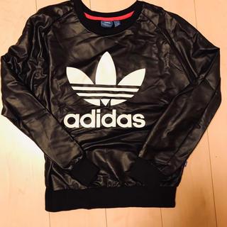 アディダス(adidas)のadidas originals レザートップス(Tシャツ/カットソー(七分/長袖))