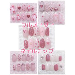 ネイルチップフルオーダー♡¥2000〜♡イニシャル量産型