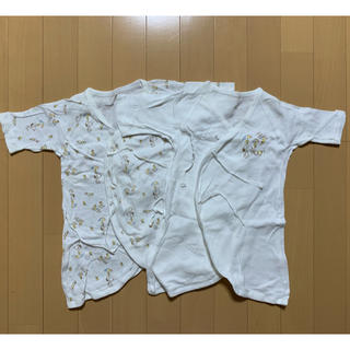 スヌーピー(SNOOPY)の50〜70センチ スヌーピー柄のコンビ肌着(肌着/下着)