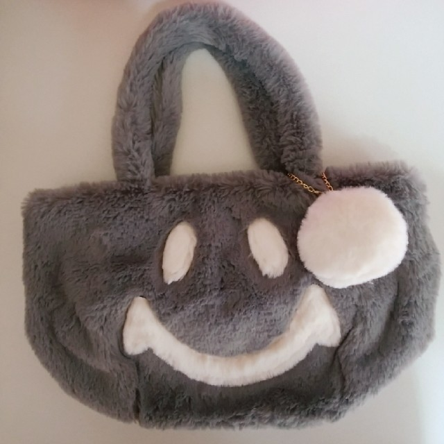しまむら(シマムラ)のしまむら☆ニコちゃんファーバッグ レディースのバッグ(トートバッグ)の商品写真