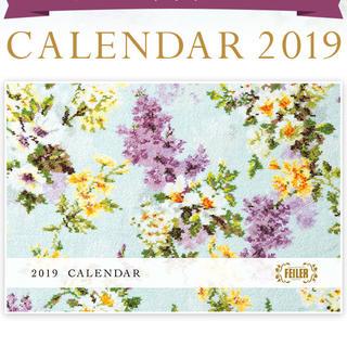 フェイラー(FEILER)の新品未使用 フェイラー カラー カレンダー 2019(カレンダー/スケジュール)