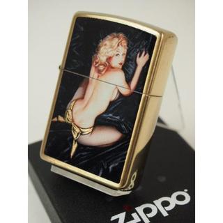 ジッポー(ZIPPO)のZippo Olivia オリビア/セクシーガール/綺麗な女性アート(タバコグッズ)