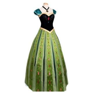 ディズニー(Disney)のアナのドレス(衣装)