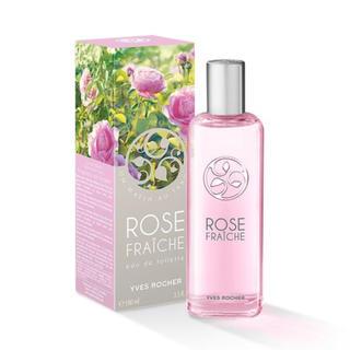 イヴロシェ(Yves Rocher)のYves Rocher(イヴロシェ)オードトワレ ROSE フランス 土産(香水(女性用))