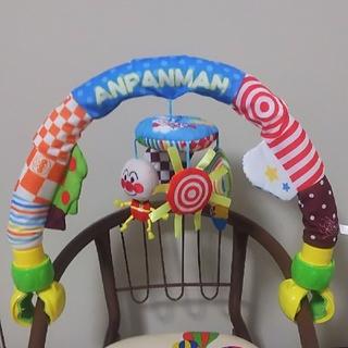 バンダイ(BANDAI)のアンパンマン ベビラボ どこでもわくわくジムメリー(オルゴールメリー/モービル)