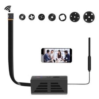 Wifi 小型カメラ 隠しカメラ 1080P高画質 防犯監視小型 スパイカメラ(防犯カメラ)