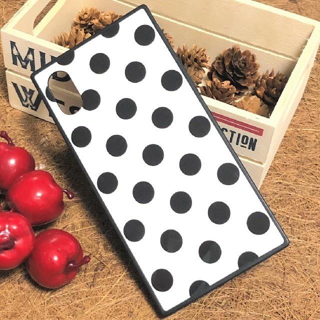 かわいい♡ドット柄iPhoneケース スクエア 選べる4色の通販 by すなふきん's shop|ラクマ