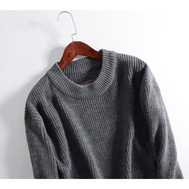 新品【N71】レディース 厚手上品 ニット 無地セーター レディースのトップス(ニット/セーター)の商品写真