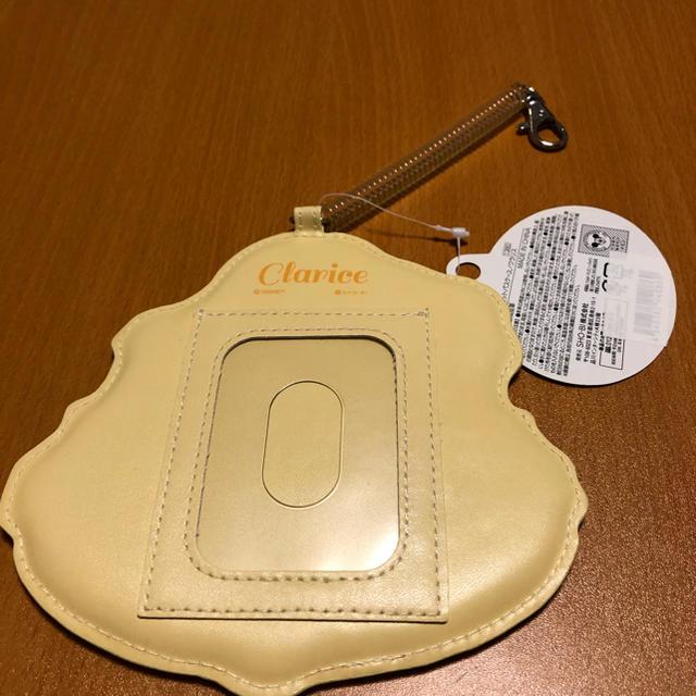 新品未使用  【ディズニー チップ&デール】ダイカットパスケース(クラリス) レディースのファッション小物(パスケース/IDカードホルダー)の商品写真