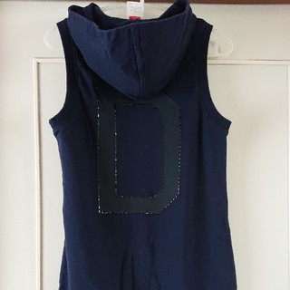 ダブルスタンダードクロージング(DOUBLE STANDARD CLOTHING)のダブルスタンダードクロージング ロングパーカー トップス(カットソー(半袖/袖なし))