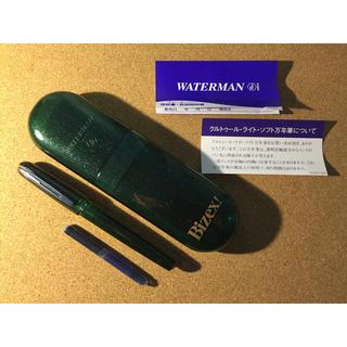 ウォーターマン(Waterman)のWATERMAN クルトゥール・ライト・ソフト万年筆【グリーン・ラメ】(ペン/マーカー)