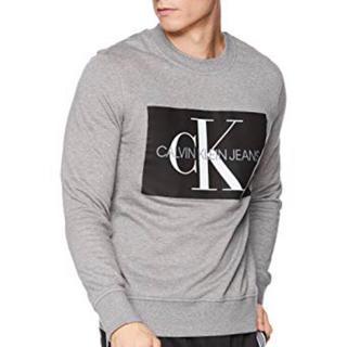 カルバンクライン(Calvin Klein)のみるるん様専用!新品 カルバンクライン トレーナー グレー Mサイズ(スウェット)