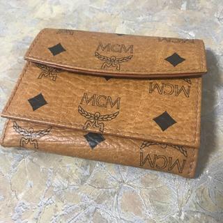 エムシーエム(MCM)のMCM Wホック 折財布 ヴィンテージ(財布)