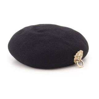 ワンスポ(one spo)のone spo ライオンベレー帽(ハンチング/ベレー帽)