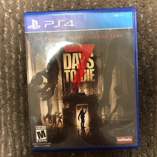 PlayStation4(プレイステーション4)の7 days to die エンタメ/ホビーのテレビゲーム(家庭用ゲームソフト)の商品写真