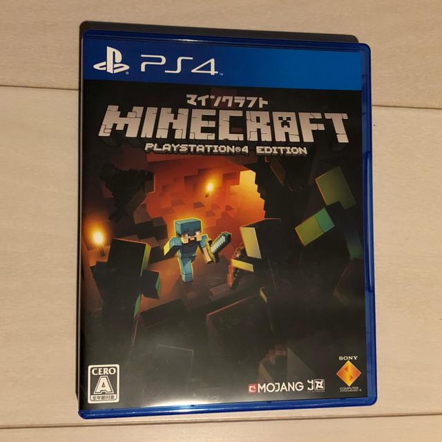 PlayStation4(プレイステーション4)のMinecraft PS4 エンタメ/ホビーのテレビゲーム(家庭用ゲームソフト)の商品写真