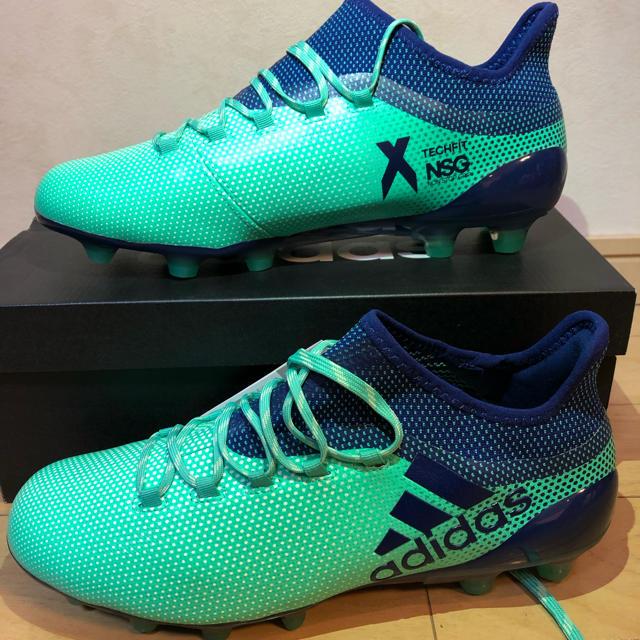 adidas(アディダス)の定価20,520円【新品 送料込】adidas X17.1 ジャパンHG 27㎝ スポーツ/アウトドアのサッカー/フットサル(シューズ)の商品写真