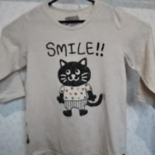 ラフ(rough)のroughにゃんこ七分袖Tシャツ(Tシャツ(長袖/七分))