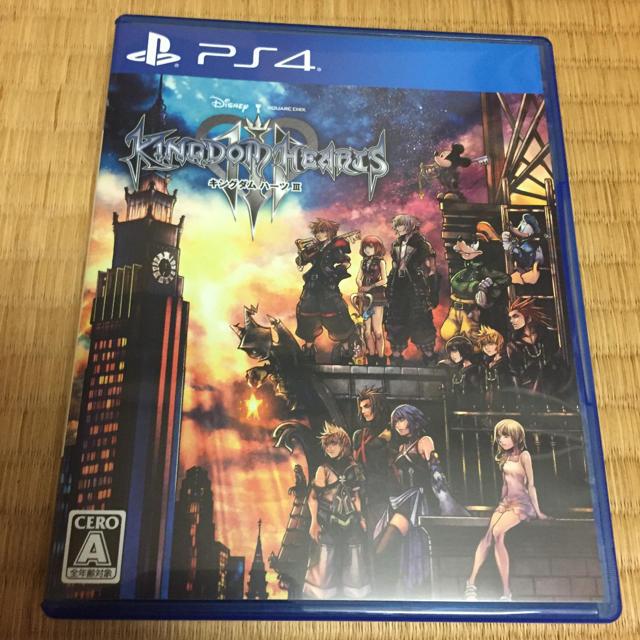 PlayStation4(プレイステーション4)のPS4 キングダムハーツ3 中古品 エンタメ/ホビーのテレビゲーム(家庭用ゲームソフト)の商品写真