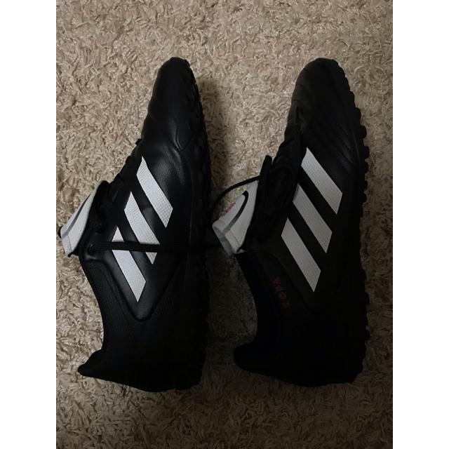 adidas(アディダス)のadidas アディダス フットサル芝用 スパイク 美品 スポーツ/アウトドアのサッカー/フットサル(シューズ)の商品写真